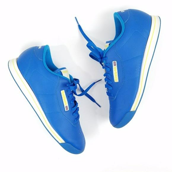0656ce8fa94 Blue Reebok Princess Classic Sneakers